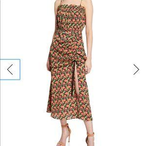 Revolve Elliatt floral dress with slit